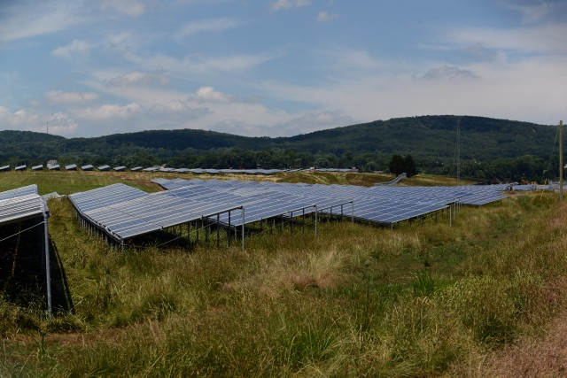 Massive Detrick solar array only fraction of Army's renewable energy capacity
