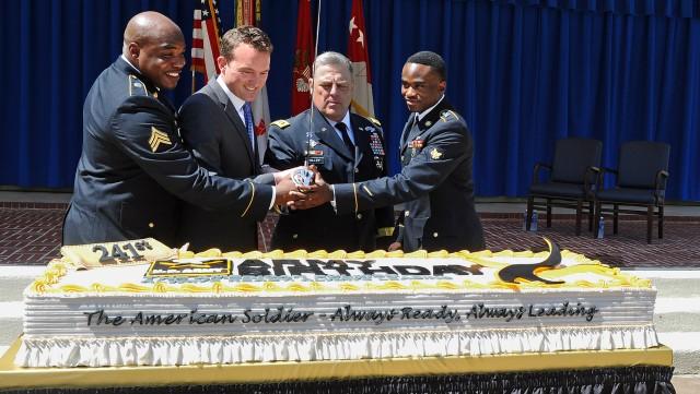 Pentagon Cake-Cutting Celebrating 241st Army Birthday