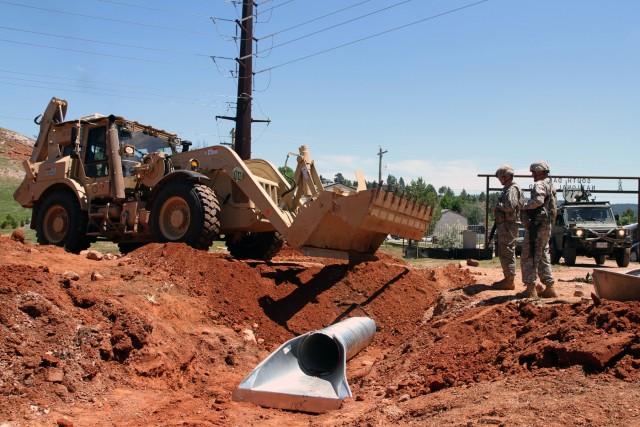 Wyoming National Guard engineers renovate West Camp Rapid