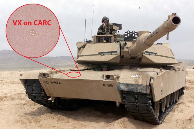 Combat vehicle protective coatings