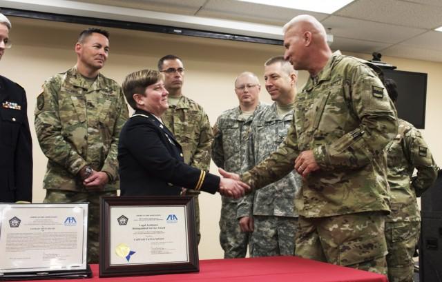 Army Reserve attorney receives prestigious ABA award