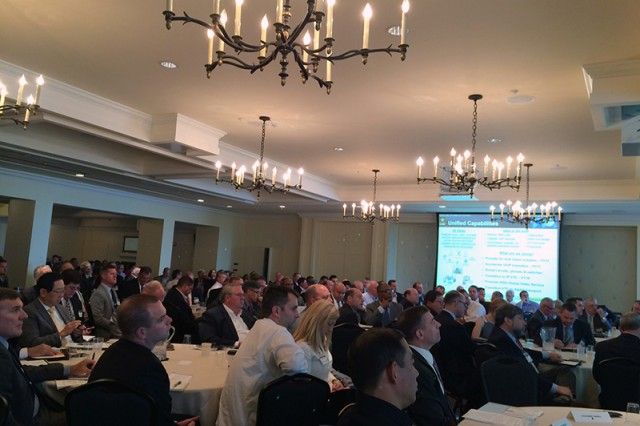More than 260 government and industry representatives attended the Mission Command Network Industry Forum on 22 June.