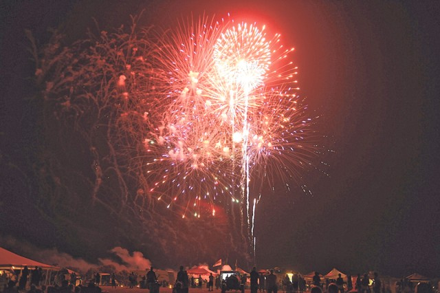The Independence Day Celebration on Fort Leonard Wood features the largest fireworks show in the area.