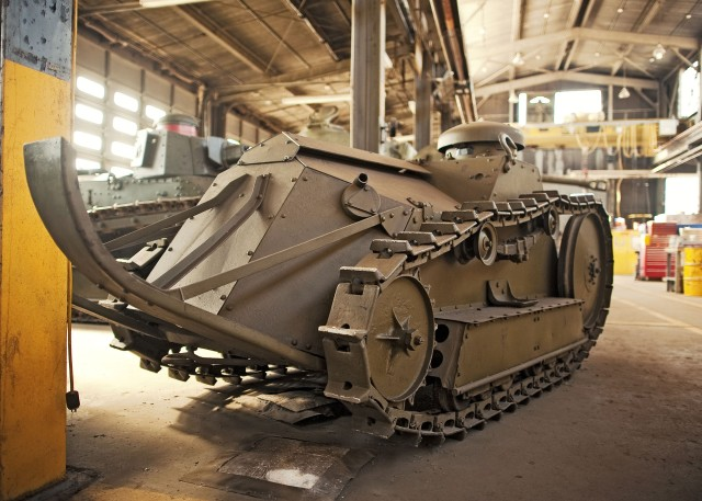 M-1918 Ford Two Man Tank