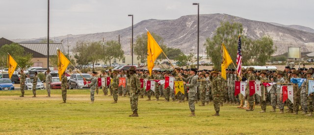The 11th Armored Cavalry Regiment's Change of Command