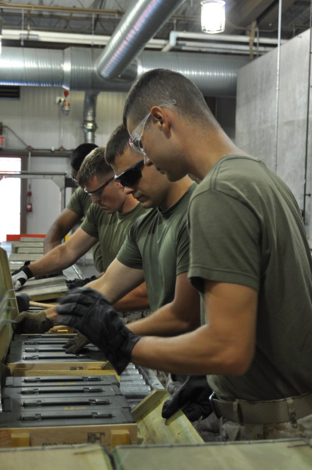 Marine Reservists Complete Annual Training at CAAA