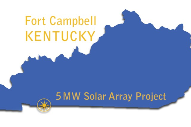 Huntsville Center, working with Fort Campbell, Kentucky, awarded a $15 million contract Wednesday to Baltimore-based small business BITHENERGY Inc. for a 3.1 mega-watt solar array that will complete the installation's state grant requirement for a 5 MW solar array.