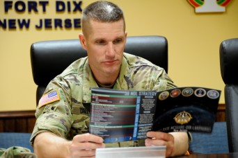 For Sgt. Maj. of the Army Dailey, readiness is priority No. 1