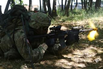 Multinational Battle Group-East hosts Best Warrior Competition