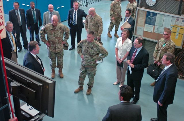 Vice Chief of Staff Army Gen. Allyn visits U.S. Tank Automotive Research, Development and Engineering Center