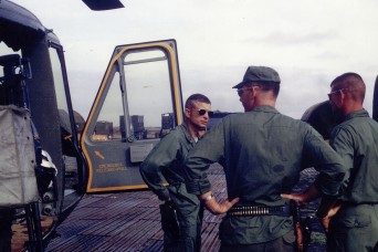 Long overdue honor: Daring Vietnam pilot remembers Medal of Honor rescue mission