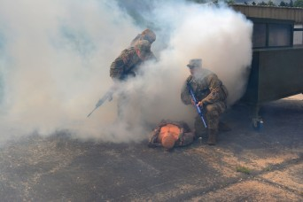 Raider Soldiers learn to save lives