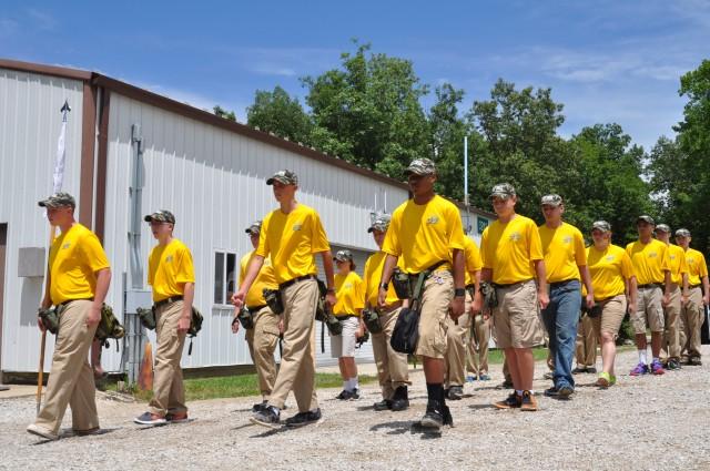 Crane hosts Basic Leadership, STEM Training for high school NJROTC cadets
