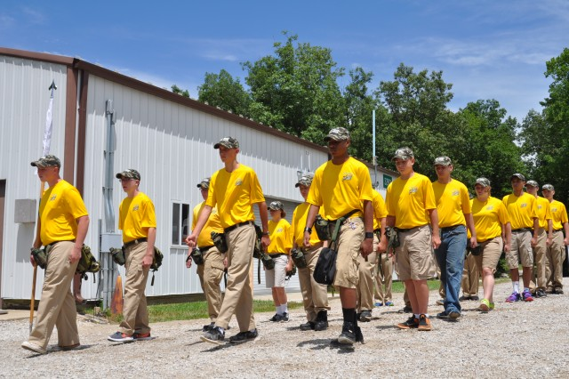 Crane Army and Navy welcomed 70 Navy Junior ROTC students for their Basic Leadership and Science, Technology, Engineering, and Mathematics Training summer camp July 5-9.