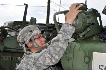 Pennsylvania Army National Guard Strykers keep moving at JRTC