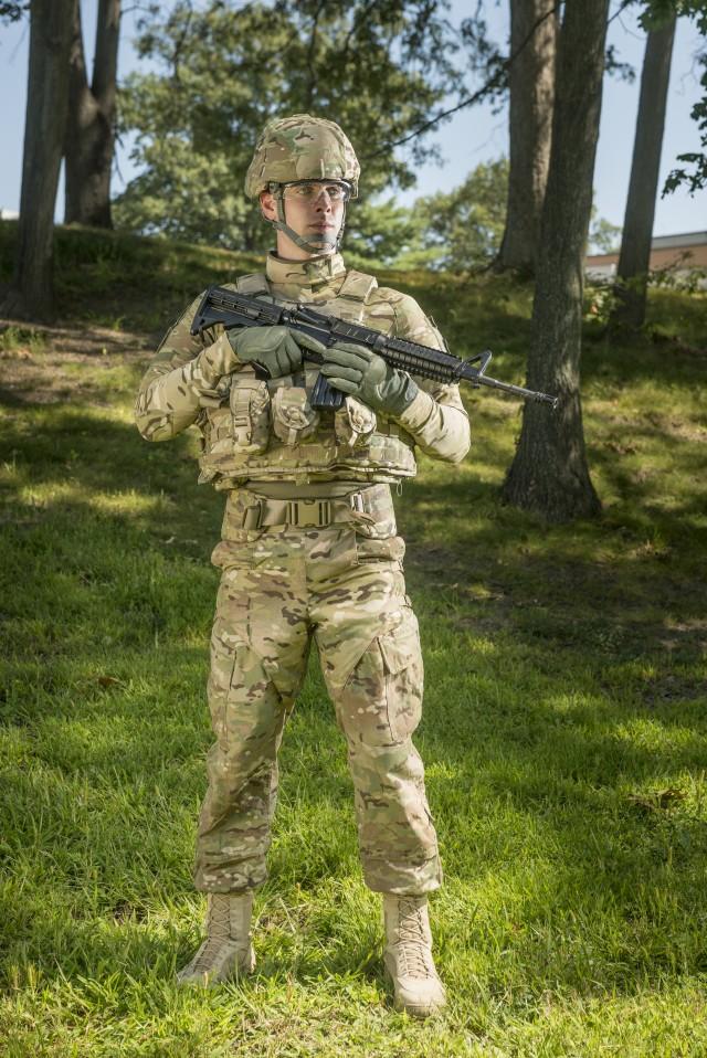 Ballistic Combat Shirt worn under other protective gear
