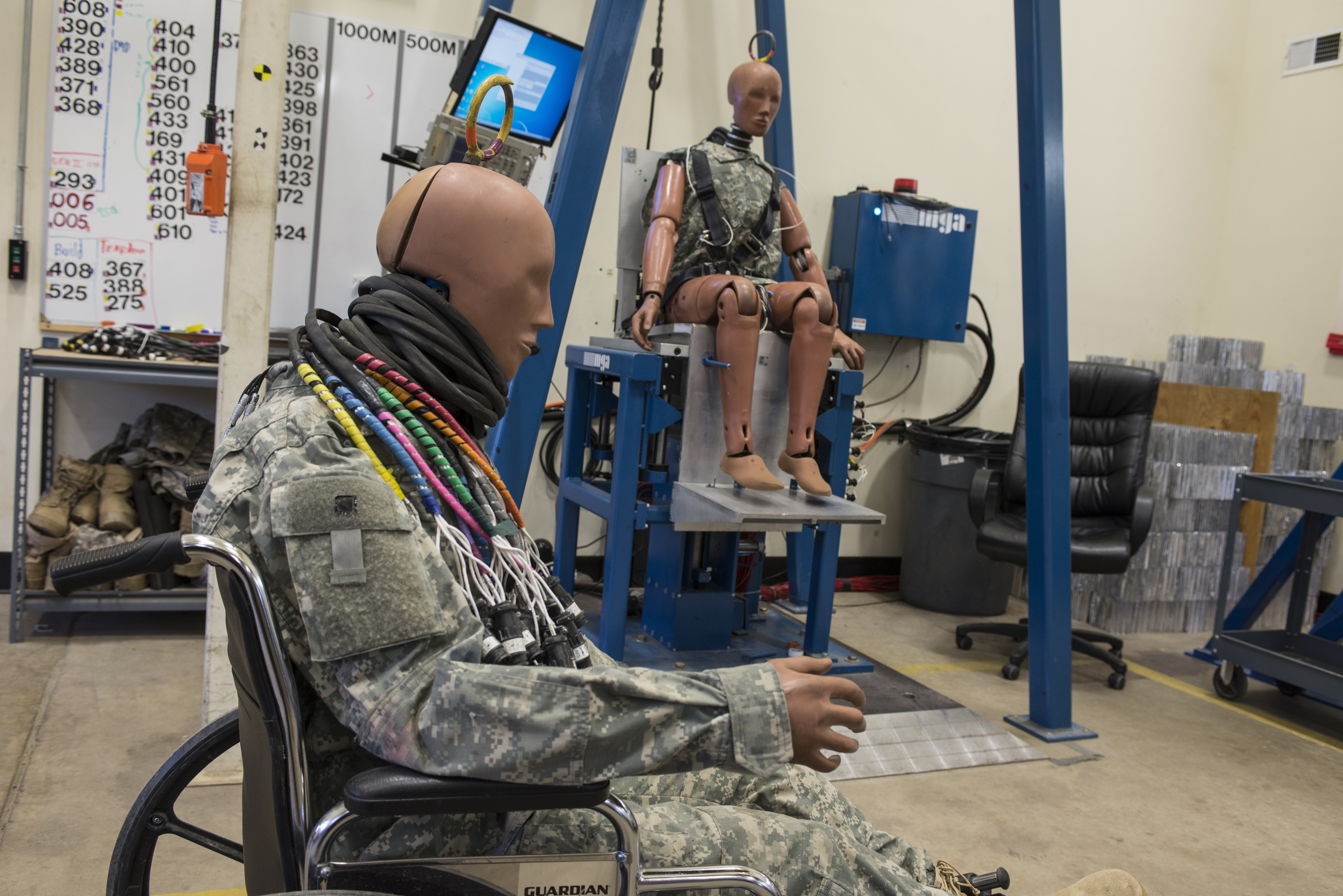 Lab Tests Armored Vehicles With Auto Industry Dummies Article
