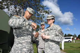Military members pitch in to maintain public health