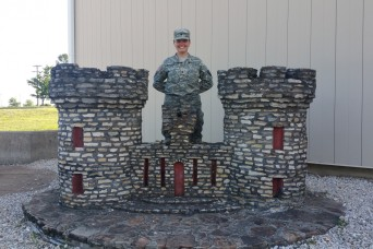 Texas Army National Guard welcomes first female combat engineer