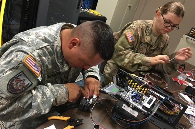 Reserve Signal Soldiers Save Big Dollars Installing
