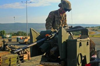 Anvil Company Preps for training in Bulgaria