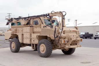 Letterkenny introduces new version of mine-resistant combat vehicle