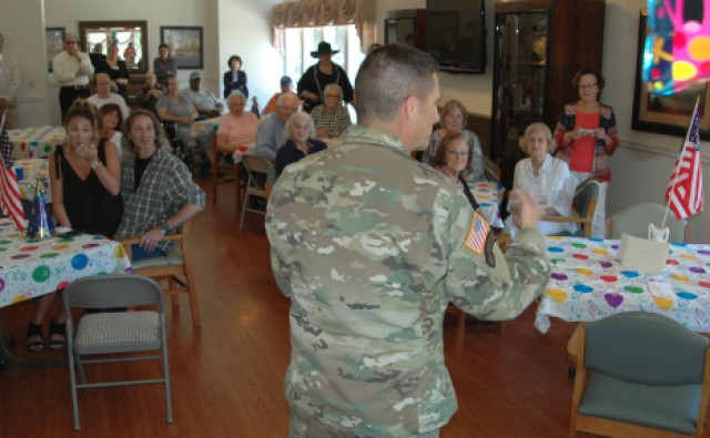 100 years Army Strong: WWII veteran celebrates a century