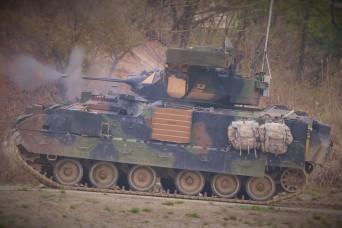 Garryowen Soldiers distinguish themselves at gunnery
