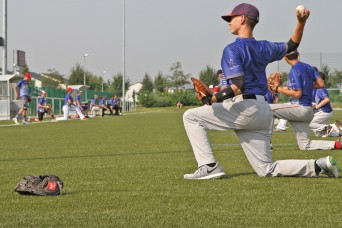 Securing the love of baseball for military children living abroad
