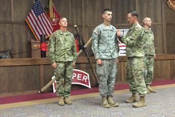 Texas guardsman named Sapper Leader Course honor grad