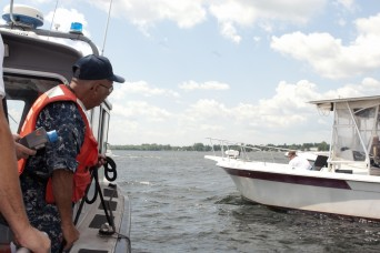 National Guard team searches for radioactive material on Lake Champlain