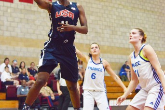 USA, Brazil remain undefeated in CISM Women's Basketball
