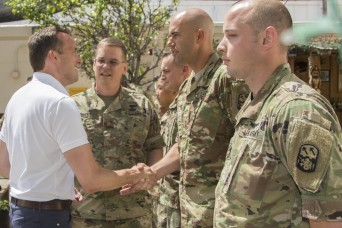Secretary of the Army experiences 94th AAMDC's dedication to JTAMD