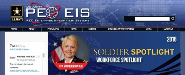 CPT Minder Soldier Spotlight