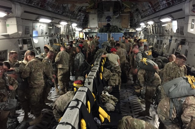 The Paratrooper Bar -- developed by the Combat Feeding Directorate at the Natick Soldier Research, Development and Engineering Center -- helped fuel members of the 82nd Airborne during a transatlantic exercise. The bar is nutritious, provides energy, and is easy to carry and easy to eat.