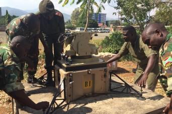 U.S., Burundi share communications hardware best practices