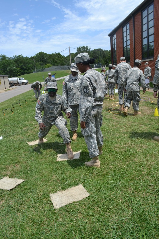 ROTC Cadets learn mental sklils to build confidence
