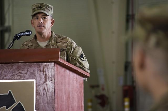 401st AFSBn-Afghanistan welcomes new commander