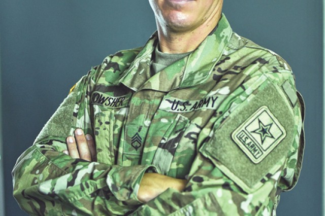 Staff Sgt. Dennis Bowser of the U.S. Army World Class Athlete Program.