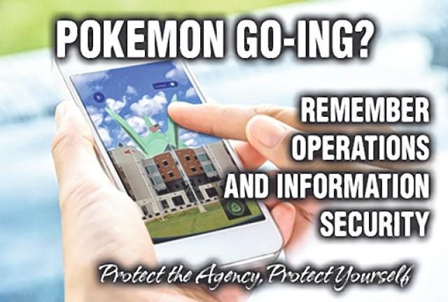 Pokémon Go? Keep safety in mind