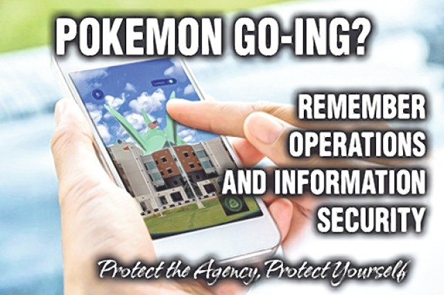 John Cobleigh, U.S. Army Garrison Fort Leonard Wood safety manager, said using a smart phone to search for Pokémons while walking could be dangerous.
