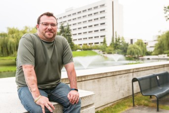 Full circle: Iraq veteran draws on his own struggle to heal others