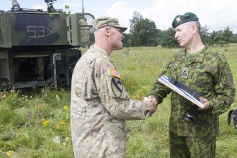 Allied Fires: Glory's Guns Soldiers train with partners