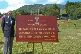 10th Mountain Division Soldiers past, present remember fallen comrades at Whiteface Mountain ceremon