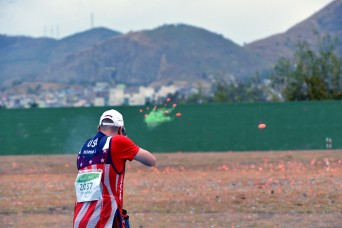 Army marksmen narrowly miss making Olympic double trap final