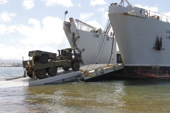 Army vessel departs in support of Pacific Pathways