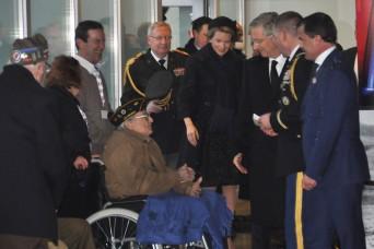 World War II veteran rests in Belgium forever