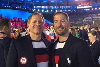 Army doctor attends to Olympic athletes behind the scenes
