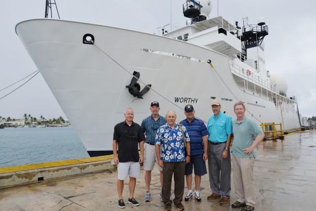DoD tech development leaders visit Army island installation