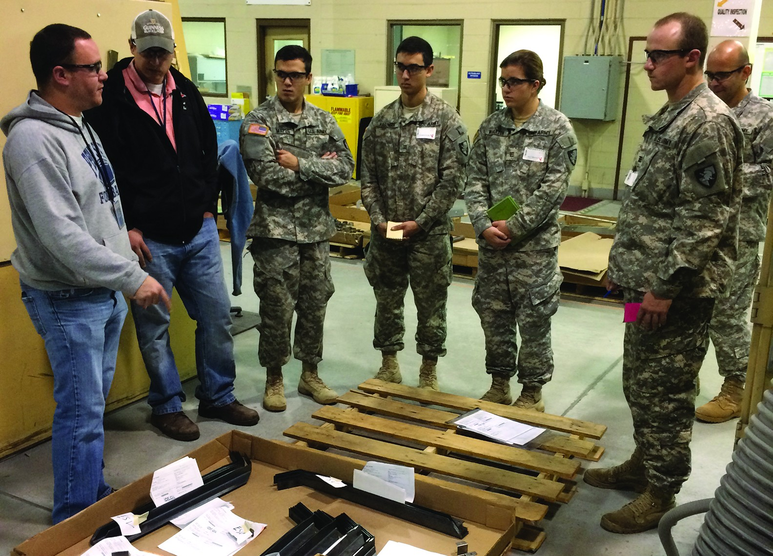 Chore Charts: Timesaving idea profitable for depot West Point cadets | Article ,Chart
